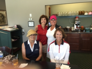 6.21.16 Hole in One with Lisa, Helen and Kathy.